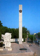 Площадь Победы в Рязани.